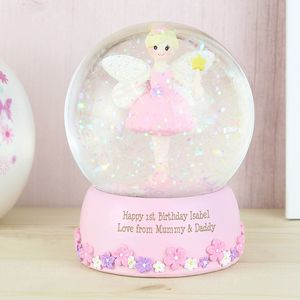 Personalised Snow Globe - snow globes & ornaments