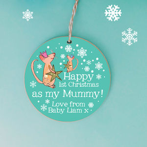 Personalised First Christmas As A Mummy