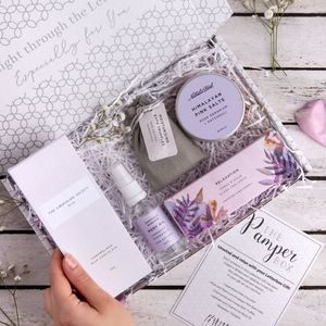 The Pamper Box Letterbox Gift Set