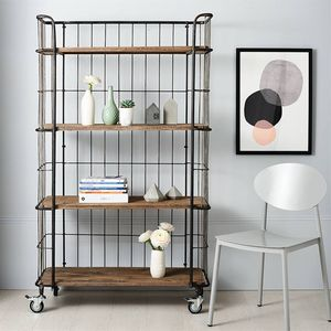 Giro Industrial Trolley With Four Shelves