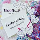Personalised Calligraphy Style Wedding Guest Book