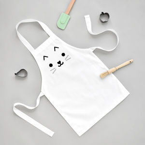 Cat Toddler Apron - whatsnew