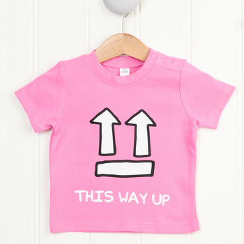 This Way Up Baby T Shirt
