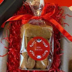 Christmas Luxury Dog Biscuit Box