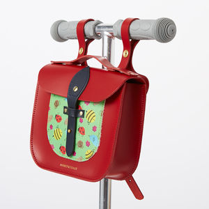Garden Print Rocket Scooter Satchel