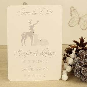 Personalised Cupid Save The Date Card - save the date cards