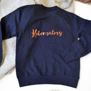 Hibernating Copper Sweatshirt - women's fashion