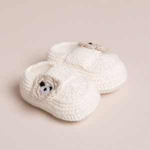 Hand Crafted Baby's First Shoes - gifts for babies