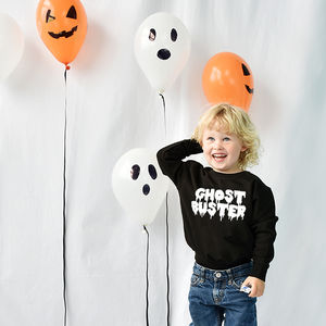 'Ghost Buster' Halloween Children's Sweatshirt Jumper - halloween with a twist