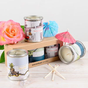 Chill Out Candle Gift Set - candles & home fragrance
