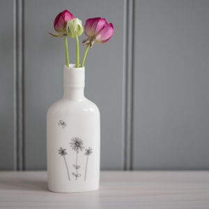 Meadow Porcelain Bottle Vase