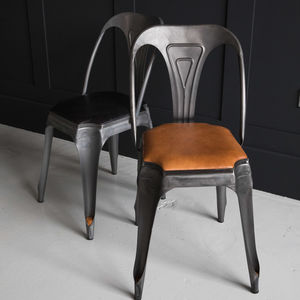 Tan Leather Multipl's Chair - furniture