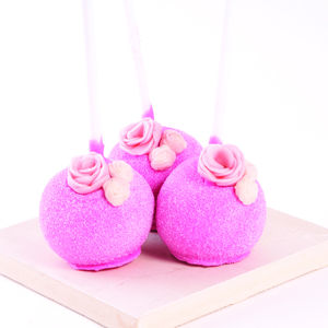 Strawberry And Prosecco Cake Pops - cakes & sweet treats