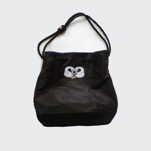 Black Swan Leather Tote *Limited Edition* - shoulder bags