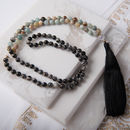 Manifestation Gemstone Yoga Necklace