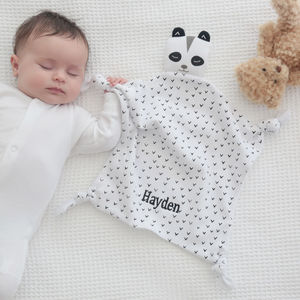 Black And White Panda Comforter - soothers
