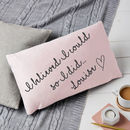 Personalised Believed I Could So I Did Quote Cushion