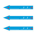 Circus Arrow Marker Non Personalised