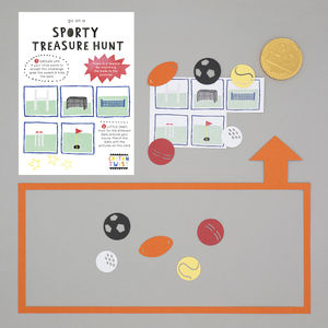 Go On A Sporty Treasure Hunt - toys & games