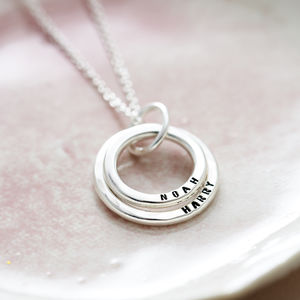 Personalised Baby Names Necklace
