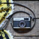 Handmade Leather Skinny Camera Strap