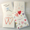 Add an optional engagement card to your order
