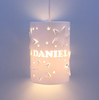 Personalised Mixed Star Ceiling Shade
