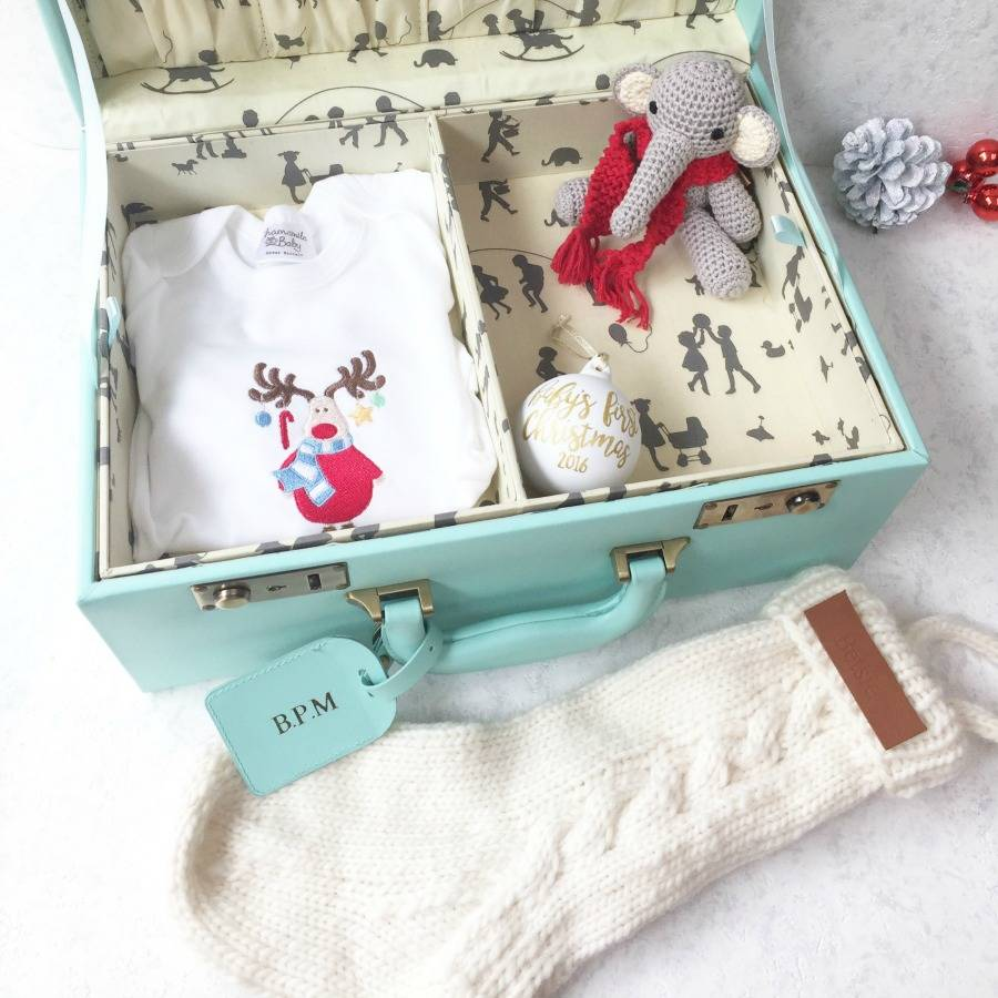 Personalised Baby S First Christmas Eve Box By Meminio