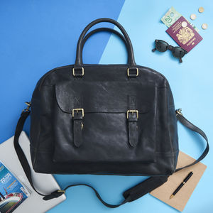 Wandering Soul Leather Travel Bag - new gifts for him