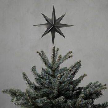 Iron Christmas Tree Top Star