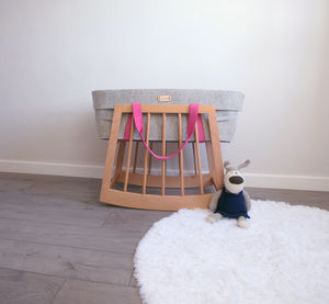 Moses Basket Rocker - children's room