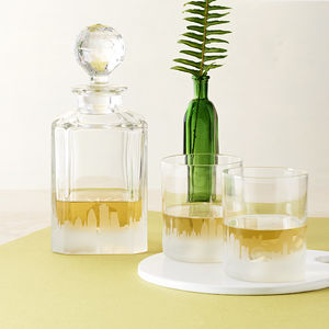 London Skyline Decanter And Tumblers
