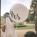 Set Of Two Mr And Mrs Giant Balloons