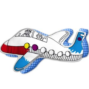 Colour In Aeroplane Craft Kit Birthday Gift