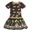 Emily Black Ballroom Dress