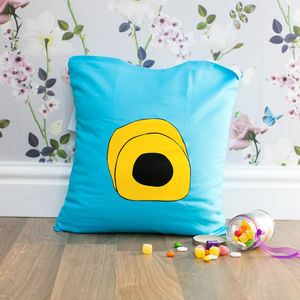 Yellow Licorice Allsort Cushion