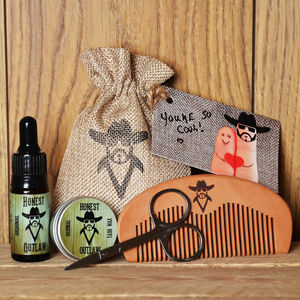 Beard Grooming Gift Kit - stocking fillers