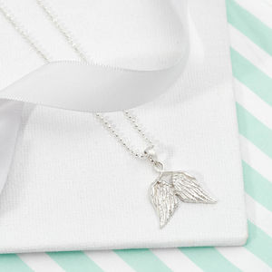 Angel Wings Necklace For Girls