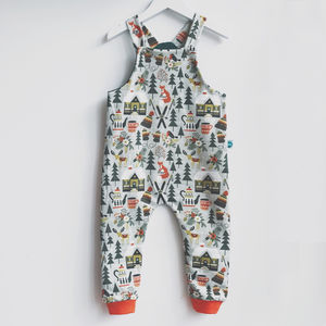 Winter Fox Organic Dungarees - clothing