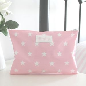 Girls Personalised Sleepover Wash Bag - make-up & wash bags