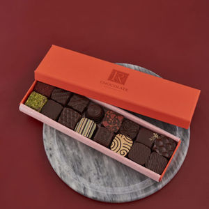 Chocolate Ganache Selection Box Of Sixteen - brand new partners