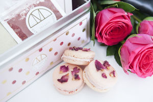 Raspberry Rose Macaron Making Kit - make your own kits