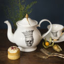 Skull In Crown Jubilee Teapot