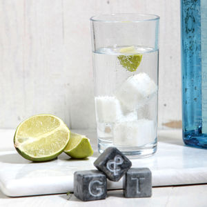 G And T Marble Ice Cubes
