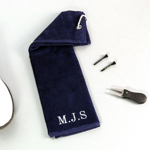 Personalised Golf Towel - for your other half