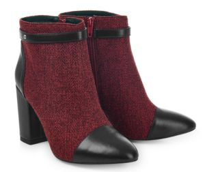 Chester Heel Ankle Boots - women's fashion