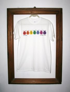 Spacehopper Rainbow T Shirt