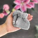 Knit Your Own Baby Sophie La Girafe: Bow Booties Kit