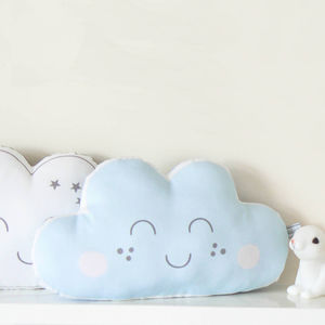 Cloud Shaped Nursery Cushion - mother's day gifts