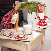 Wooden Santas Coming Christmas Eve Kit - christmas